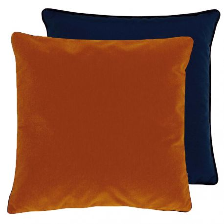 Coussin Piccadilly orange Lelievre