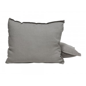 Coussin Istres taupe, Lelievre
