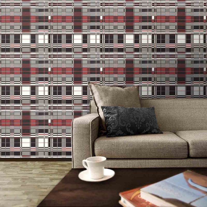 papier peint basque laque jean paul gaultier d co en. Black Bedroom Furniture Sets. Home Design Ideas