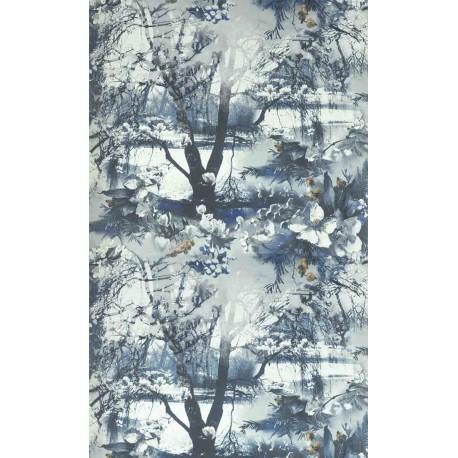 papier peint brume encre jean paul gaultier d co en ligne papiers peints design. Black Bedroom Furniture Sets. Home Design Ideas