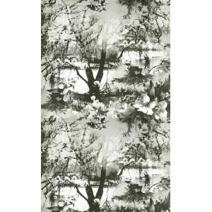 Papier peint Brume Ecru/Noir, Jean Paul Gaultier