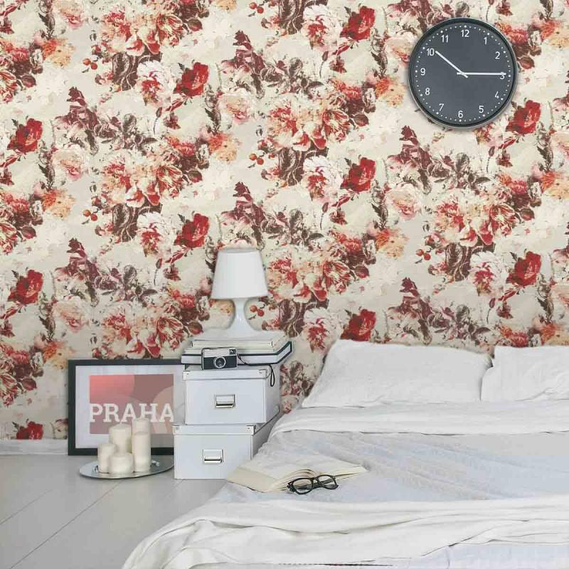 papier peint flamboyant laque jean paul gaultier d co en ligne papier peint. Black Bedroom Furniture Sets. Home Design Ideas