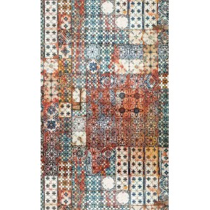 Papier peint Porto Mandarine, Jean Paul Gaultier