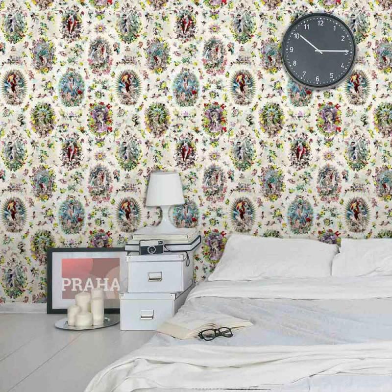 papier peint r cr ation jean paul gaultier d co en ligne papiers peints design. Black Bedroom Furniture Sets. Home Design Ideas