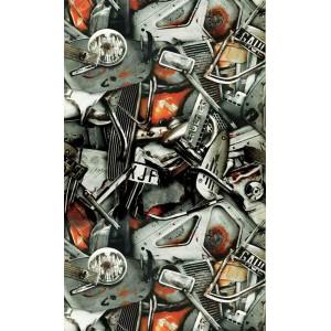 Papier peint Carambolage Terre, Jean Paul Gaultier