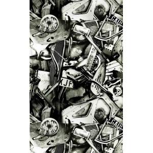 Papier peint César, Jean Paul Gaultier