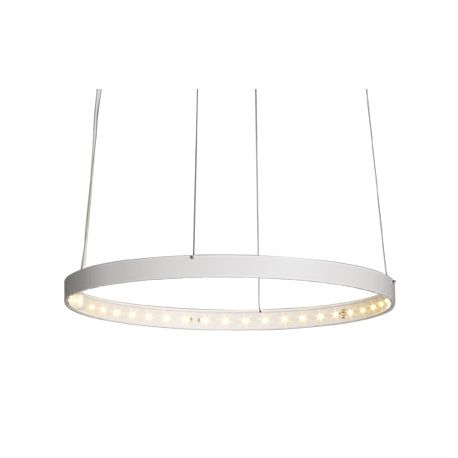Suspension Circle Ø30 blanche Le Deun Luminaires