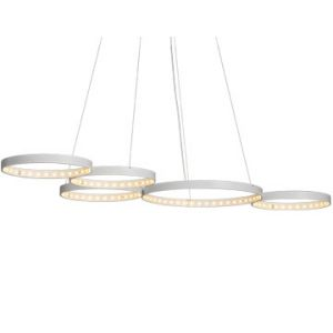 Suspension Super 8 blanche Le Deun Luminaires