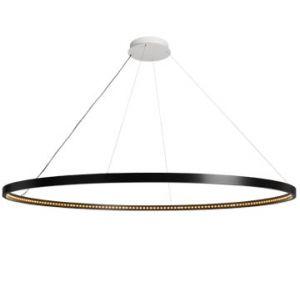 Suspension Omega noire Ø120 Le Deun Luminaires