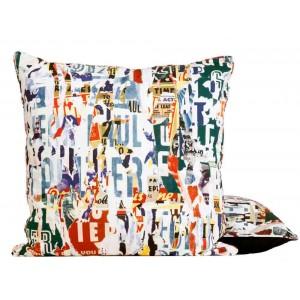 Coussin Souvenirs Multico, Jean Paul Gaultier
