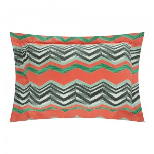 2 taies d'oreiller Vinicio, Missoni Home