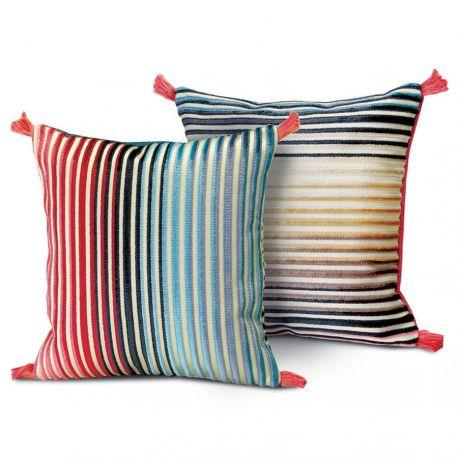 coussin jacaranda 50 carr missoni home d co en ligne coussins. Black Bedroom Furniture Sets. Home Design Ideas