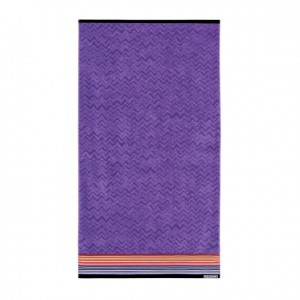 Serviette de plage Tex Violet, Missoni Home