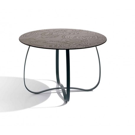 Table Holly Glass noire, Missoni Home