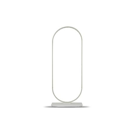 Lampe Ovale blanche, Le Deun Luminaires
