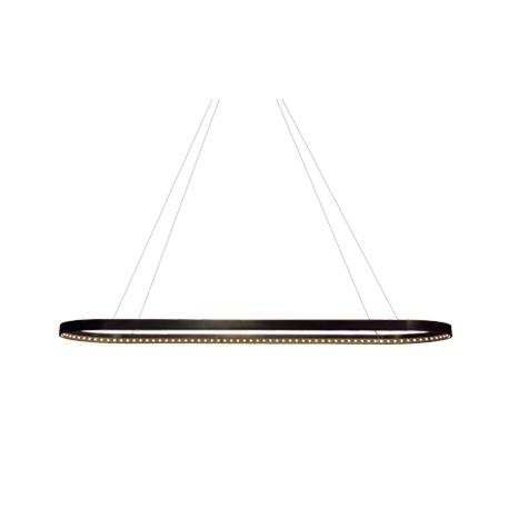 Suspension Oval noire, Le Deun Luminaires