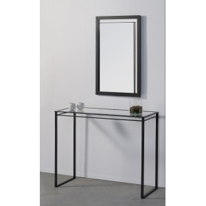 Console Graphic anthracite/verre