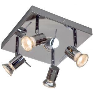 Plafonnier salle de bain Spot carré, Linea Verdace