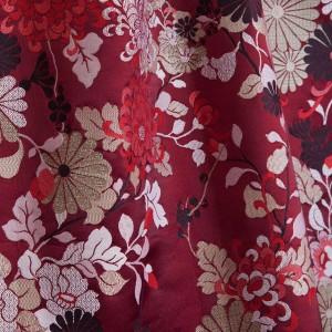 Tissu Kyoto Grenat, Jean Paul Gaultier