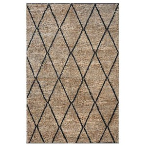 Tapis Larson Charbon, The Rug Republic
