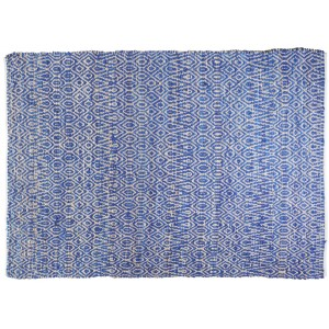 Tapis Pasadena Indigo, The Rug Republic