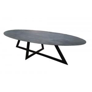 Table De Salle A Manger Design Ovale Deco En Ligne Table Design