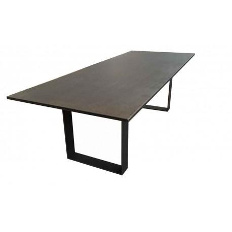 Table de salle manger c ramique ugox rallonges 8 - Table salle a manger plateau ceramique ...