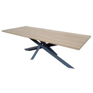 Table de salle à manger Chêne Versatil Rallonges