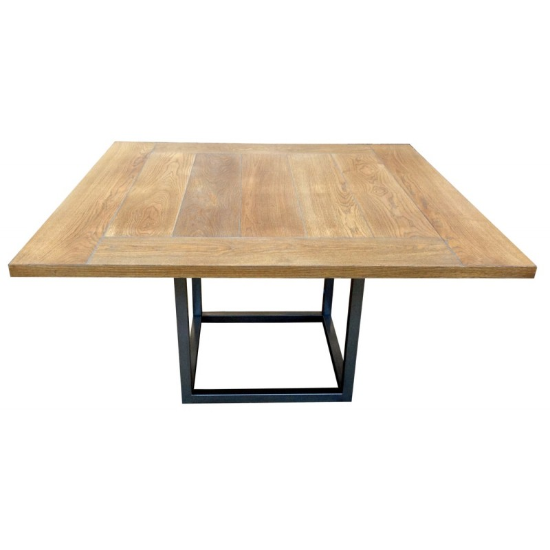 Table De Repas Carree Duetto Rallonges Deco En Ligne Tables Rallonges