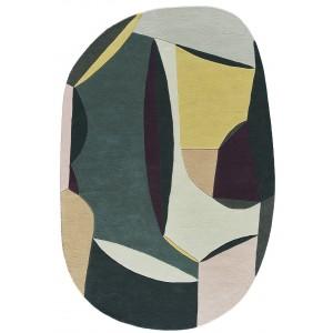 Tapis Polia Shape Printemps, Toulemonde Bochart