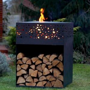 Barbecue brasero plancha Cube