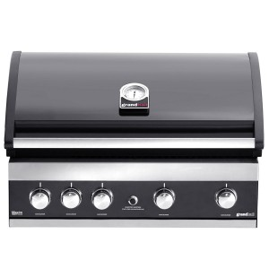 Barbecue encastrable Maxim GTI4 noir, Grandhall