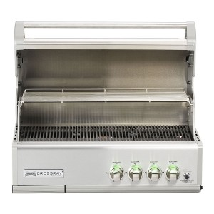 Barbecue encastrable inox Crossray, Grandhall