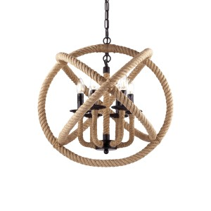 Suspension Corda ronde, Ideal Lux