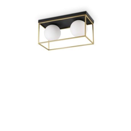Plafonnier Lingotto rectangulaire, Ideal Lux