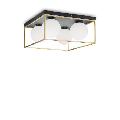 Plafonnier Lingotto 45x45, Ideal Lux
