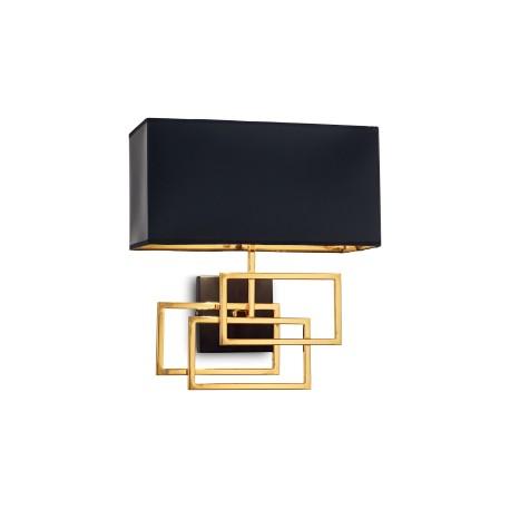 Applique Luxury noir doré, Ideal Lux