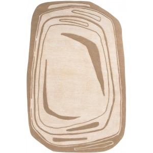 Tapis Modulation Fragment Beige, Toulemonde Bochart
