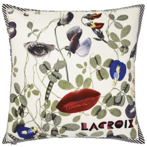 Coussin Dame Nature, Christian Lacroix