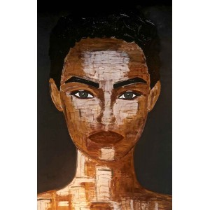 Tiven - Impression du tableau Agathe sur Plexiglas