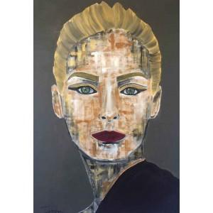 Tiven - Impression du tableau Liorah sur Plexiglas