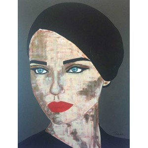 Tiven - Impression du tableau Teresa sur Plexiglas