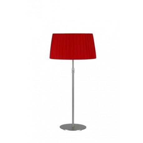 Lampe télescopique Plissée rouge