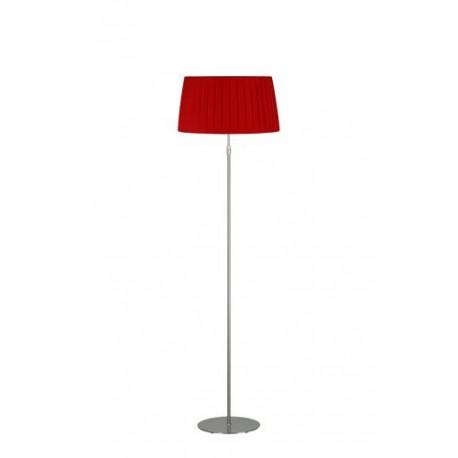 Lampadaire télescopique Plissé rouge