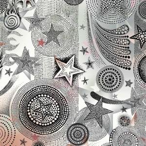 Papier peint Etoiles Multico, Jean Paul Gaultier