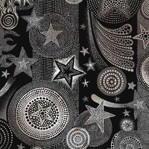 Papier peint Etoiles Nuit Noir, Jean Paul Gaultier