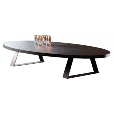 table basse tr vise ovale ph collection d co en ligne tables basses design. Black Bedroom Furniture Sets. Home Design Ideas