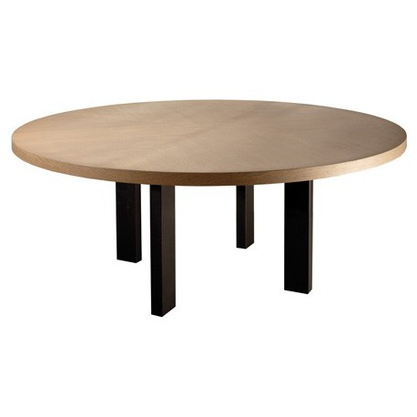 Table de salle manger luna ronde ph collection d co for Table a manger ronde