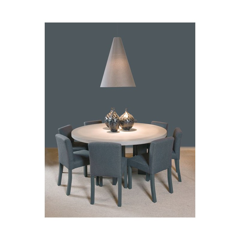 Table de salle manger luna ronde ph collection d co for Salle manger ronde