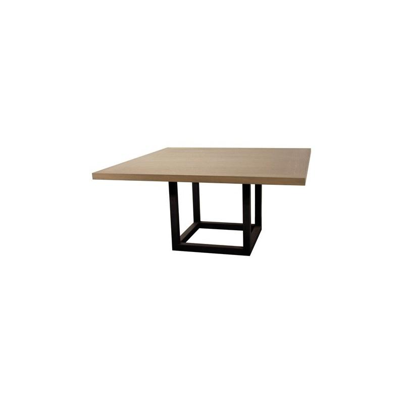 table de salle manger zoe carr e 9 finitions ph collection d co en ligne tables de salle a. Black Bedroom Furniture Sets. Home Design Ideas